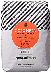 10 Best Ground Coffees: AmazonFresh Colombia Ground Coffee