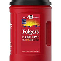 10 Best Ground Coffees: Folgers Classic Roast Ground
