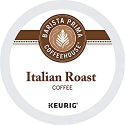 Barista Prima Coffeehouse Italian Roast 10 Best K-Cup Coffees