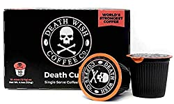 Death Wish Coffee Single Serve Capsules 10 Best K-Cups
