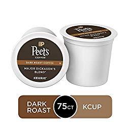 Peet's Coffee Major Dickason's Blend 10 Best K-Cups