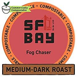 SF Bay Coffee Fog Chaser 10 Best K-Cups