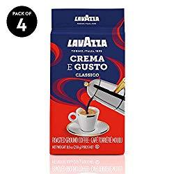 10 Best Ground Coffees: Lavazza Crema E Gusto