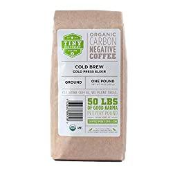 Tiny Footprint Coffee Organic Cold Press Elixir - Best Cold Press Coffee 2020 Reviews