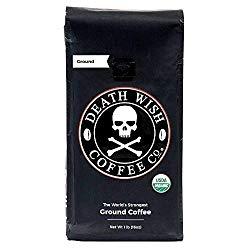 Death Wish Organic USDA Certified Whole Bean Coffee - 10 Best Espresso Beans of 2020