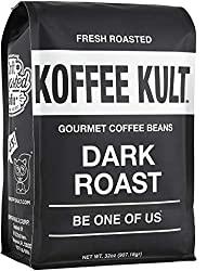 Koffee Kult Dark Roast Coffee Beans - 10 Best Espresso Beans of 2020