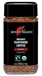 Mount Hagen Organic Freeze Dried Instant Coffee - Best Instant Coffee 2020 Reviews
