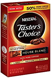 Nescafe Taster's Choice Instant Coffee Packets - Best Instant Coffee 2020 Reviews