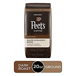 Peet's Coffee Major Dickason's Blend, Dark Roast Whole Bean Coffee - 10 Best Espresso Beans of 2020