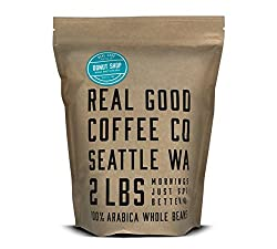 Real Good Coffee Co Whole Bean Coffee - 10 Best Espresso Beans of 2020