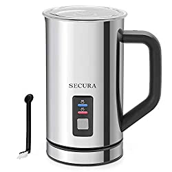 Secura Automatic Electric Milk Frother and Warmer - Best Milk Frother Of 2020