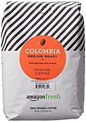 AmazonFresh Columbia Medium Roast Ground Coffee - Best Coffee On Amazon