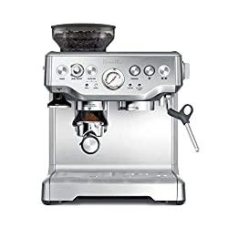 Breville BES870XL Barista Express Espresso Machine - Best Coffee Maker With Grinder