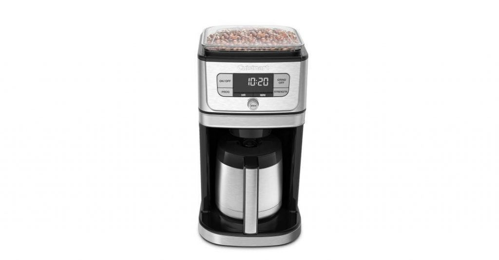 Cuisinart DGB-850 Grind and Brew Automatic Coffee Maker - Best Coffee Maker With Grinder