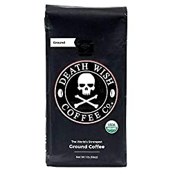 Death Wish Coffee Co. Ground Coffee - Best Coffee On Amazon