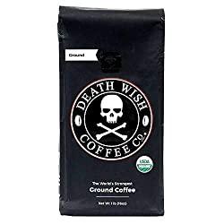 Death Wish Coffee Co. Ground Coffee - Best Coffee On Amazon