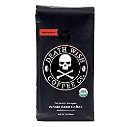 Death Wish Whole Bean Coffee - Best Coffee On Amazon