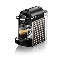 Nespresso Pixie with 19 bar high pressure pump.