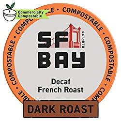 SF Bay French Roast Decaf K-Cups - Best Decaf Coffee Brands of 2020