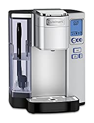Cuisinart SS-10 Premium Single Serve Coffee Maker with reusable filter.