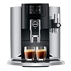 Jura E8 Automatic Coffee Machine with milk container - Best Single Cup Coffee Maker