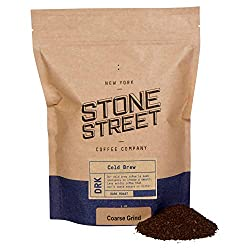 Stone Street Coffee, Cold Brew, Coarse Ground Best Coffee For French press