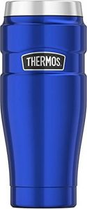 Thermos Stainless King 16 Ounce Travel Tumbler Electric Blue
